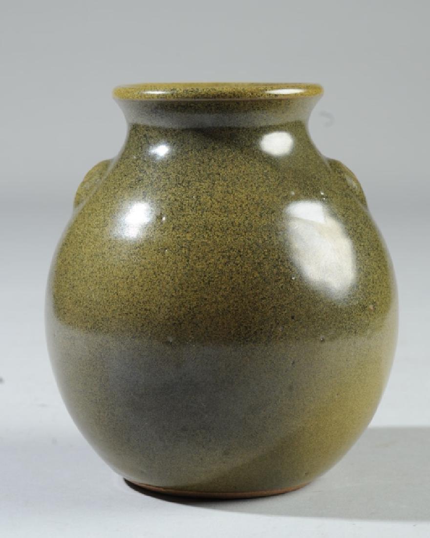 Jugtown Pottery Frogskin Vase
