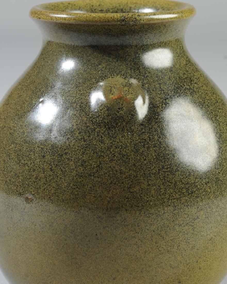 Jugtown Pottery Frogskin Vase - 2