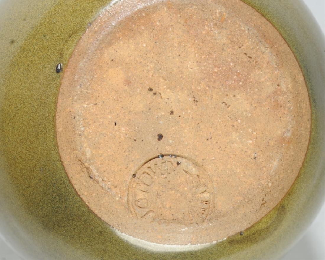 Jugtown Pottery Frogskin Vase - 3
