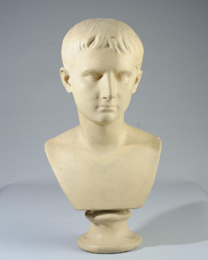 Composition Bust of Youthful Octavian