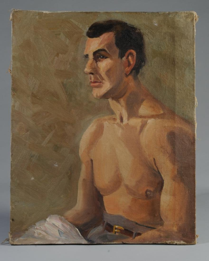 Jim Hunt Oil on Canvas
