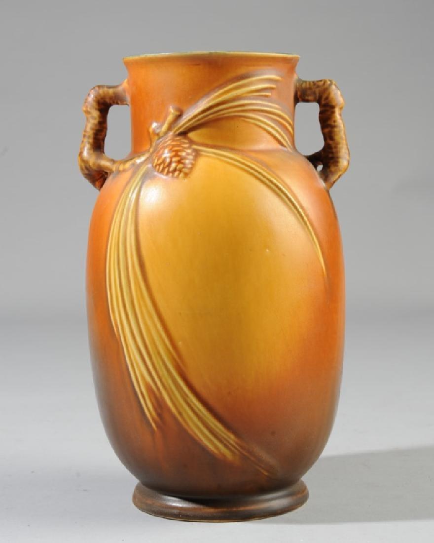Roseville Pottery Pine Cone Vase