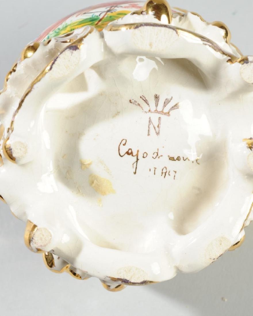 Small Capodimonte Porcelain Bowl - 4