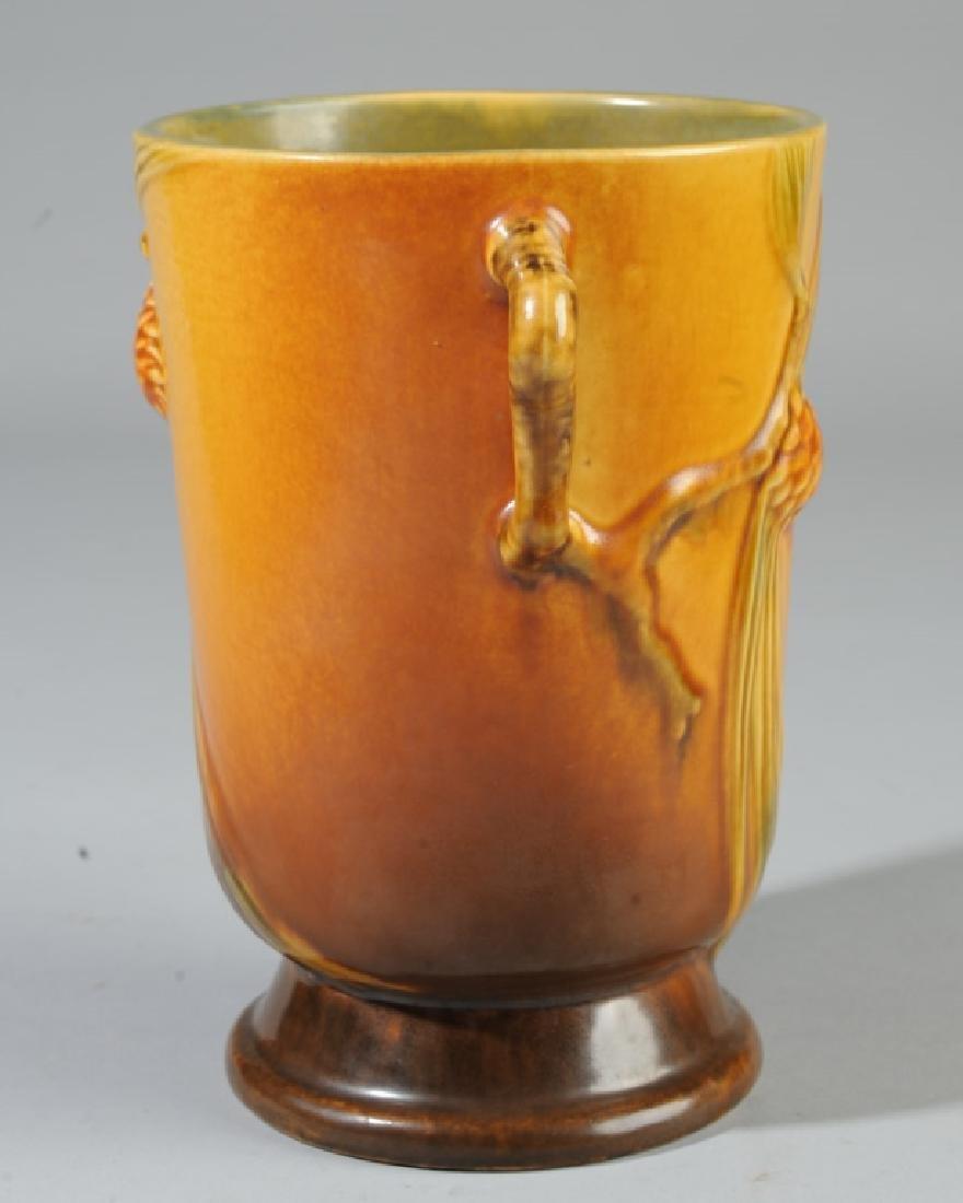 Vintage Roseville Pottery Pine Cone Vase - 2