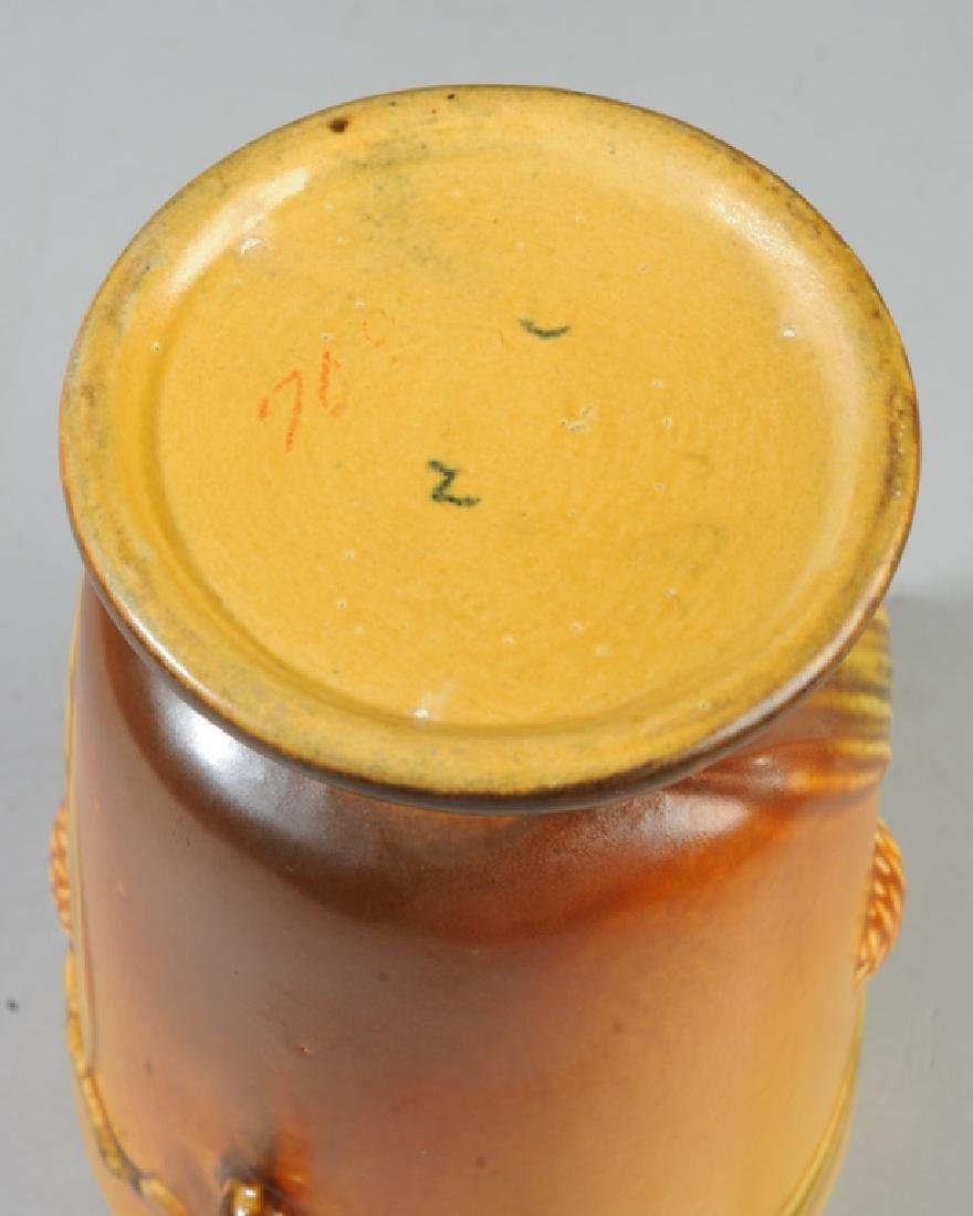 Vintage Roseville Pottery Pine Cone Vase - 5