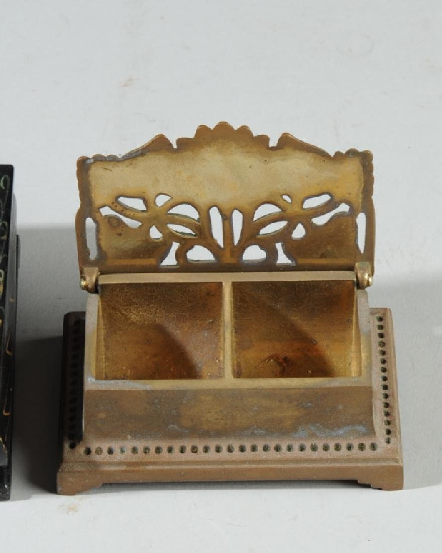 Lot of Vintage Trinket, Jewelry Boxes - 3
