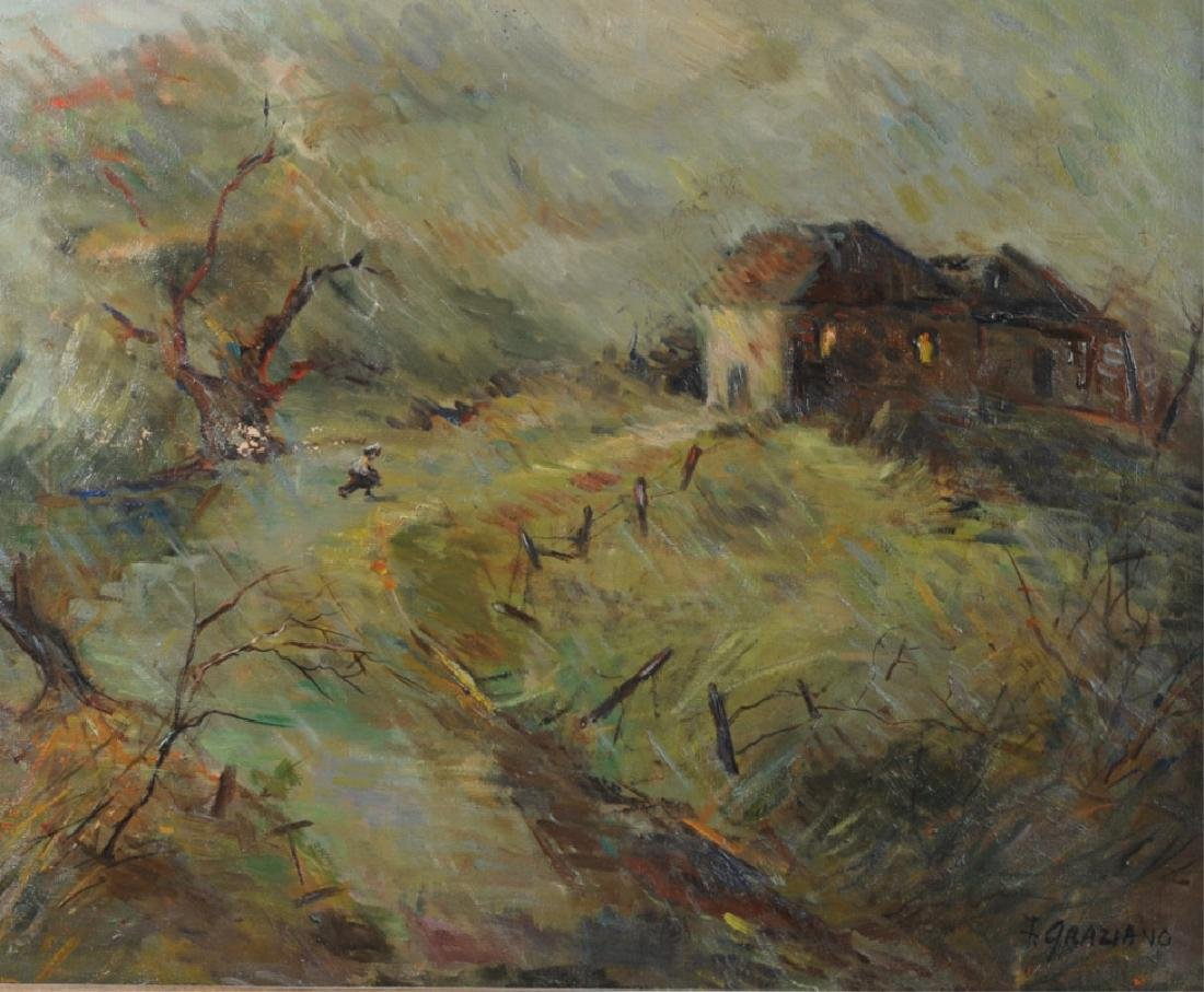 Florence Graziano Oil on Canvas - 2