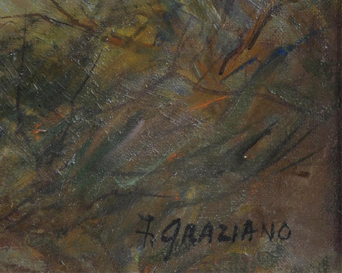 Florence Graziano Oil on Canvas - 3