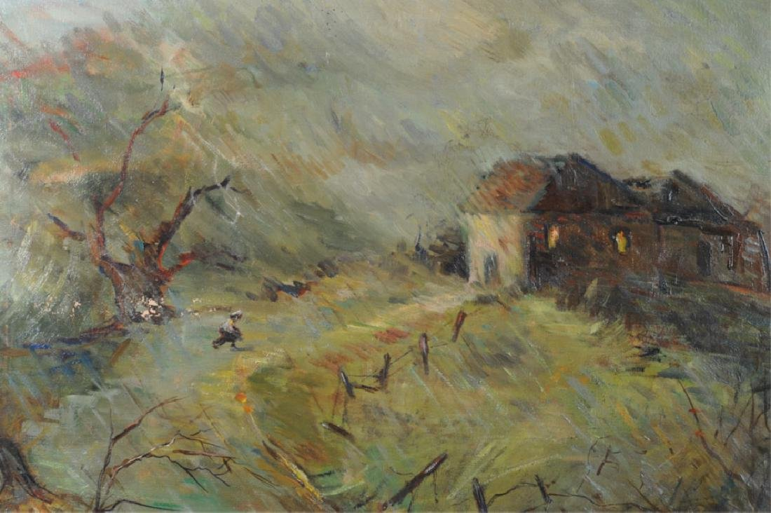 Florence Graziano Oil on Canvas - 4