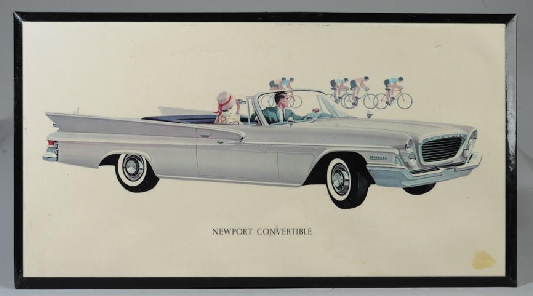 1961 Chrysler Dealer Sign