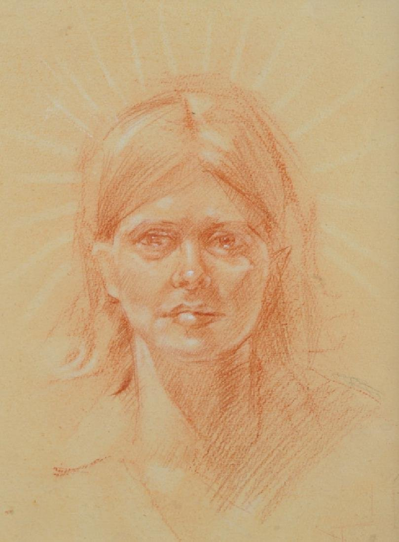 Sketch of Young Lady - 2
