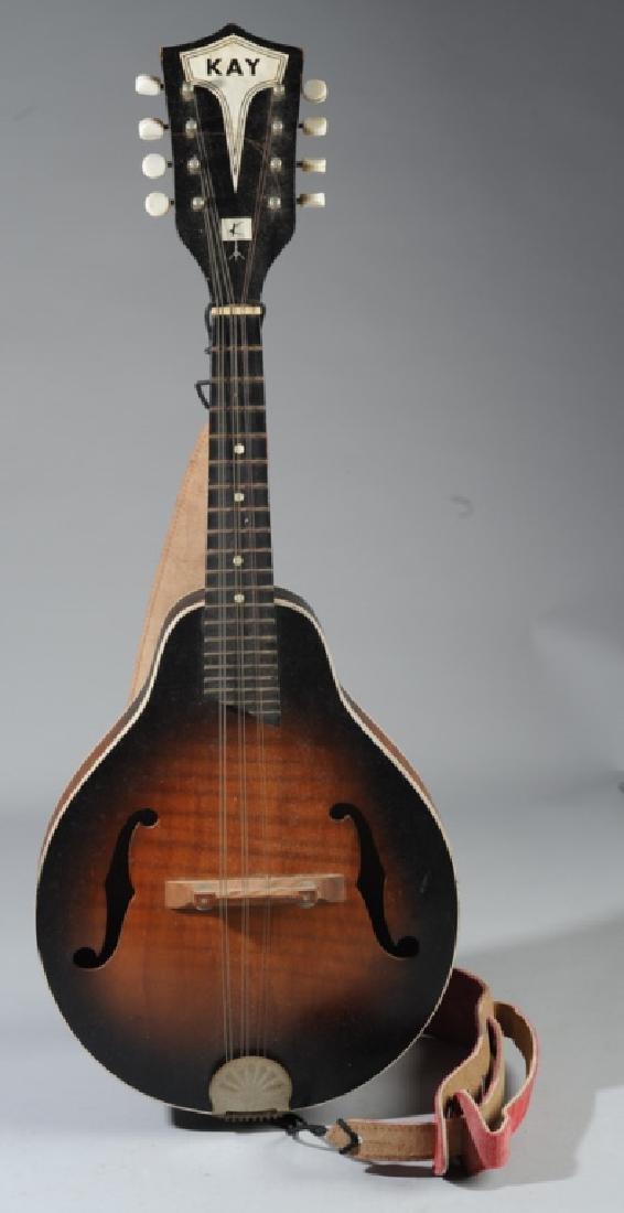 Vintage Kay Mandolin