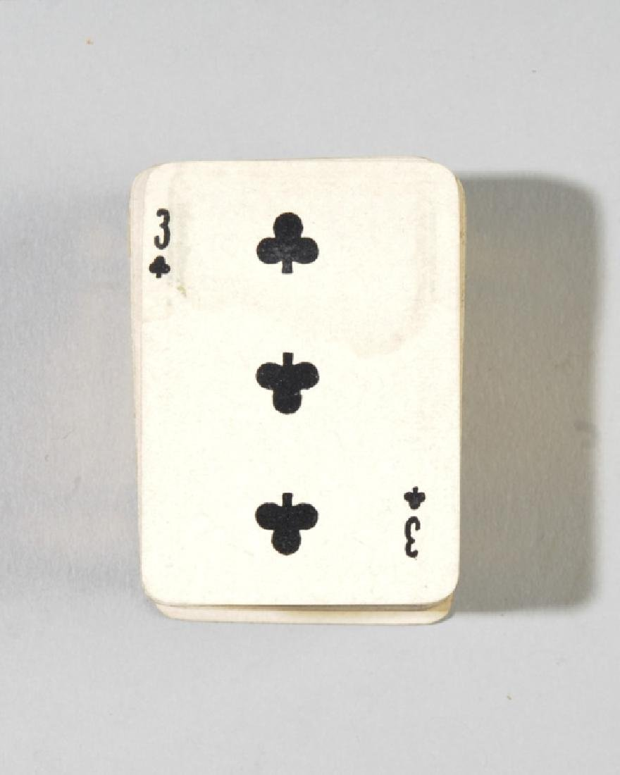 Goodall's Miniature Playing Cards, Sterling Case - 3