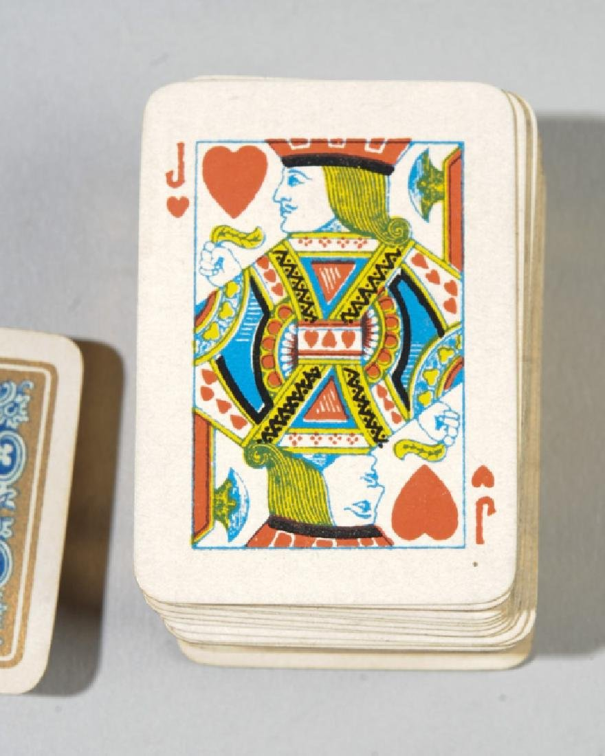 Goodall's Miniature Playing Cards, Sterling Case - 4