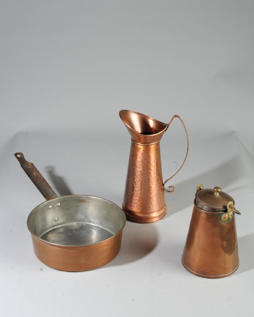 Mixed Copper & Copper Plated Lot