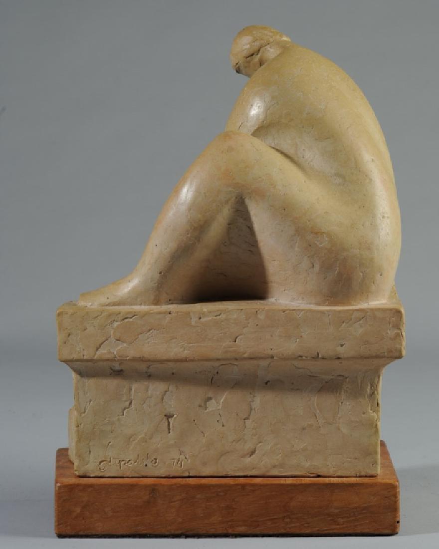 20th C. Clay Sculpture - 2