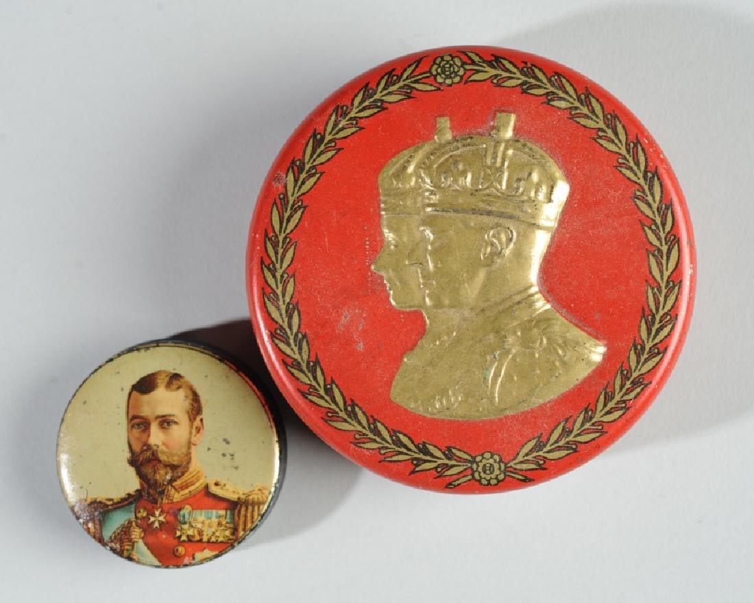 Two King George V Tins