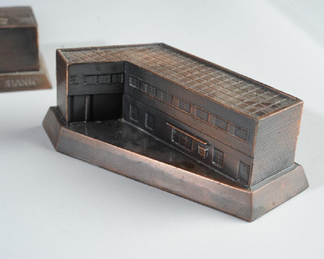 Metal Banthrico Bank Lot - 3