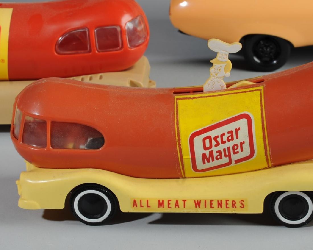 Three Oscar Mayer Weiner Mobiles - 2