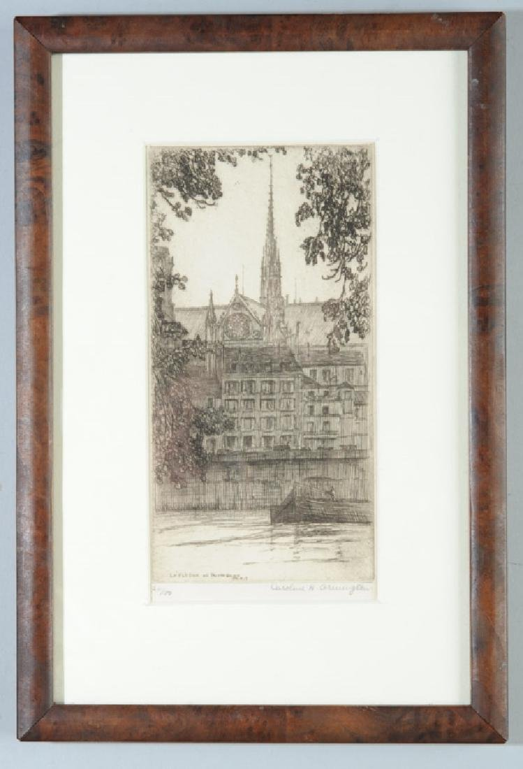 Caroline Armington  (1898 - 1986) Etching