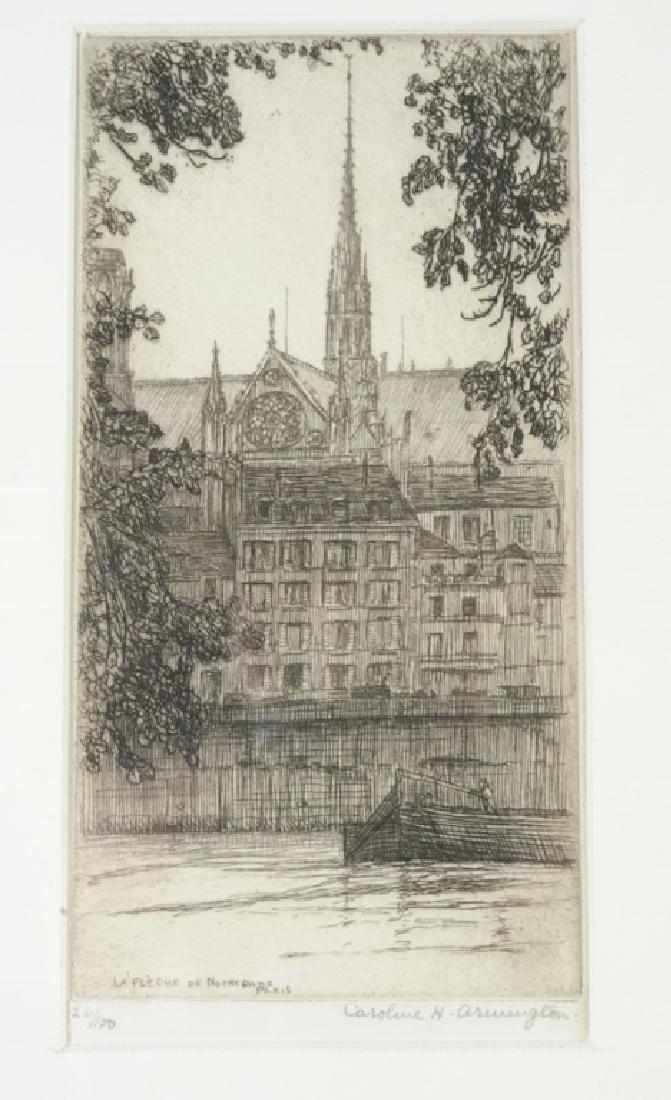 Caroline Armington  (1898 - 1986) Etching - 2