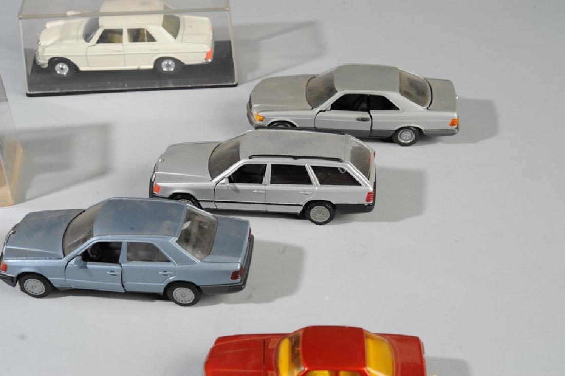 Toy Mercedes Model Car Lot - 2