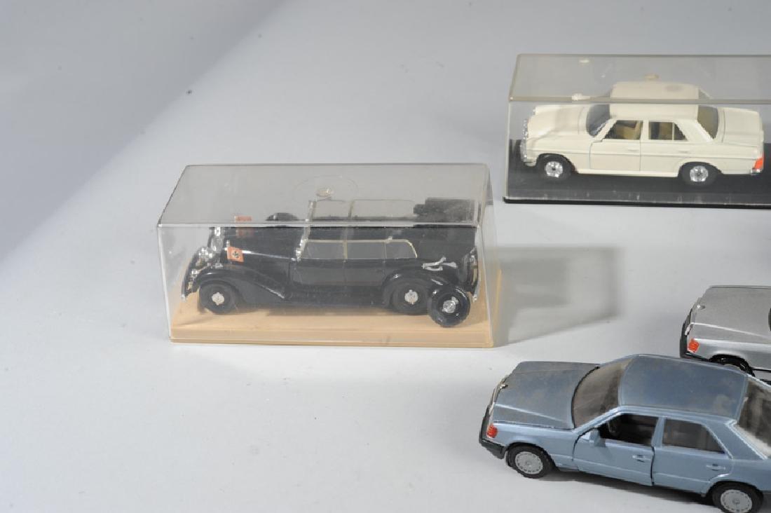 Toy Mercedes Model Car Lot - 3