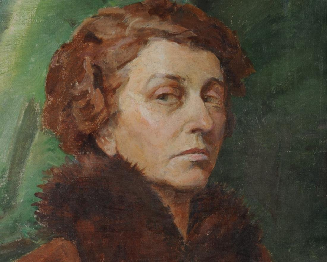 Ruth S. Frost (b. 1873) Oil on Canvas - 4