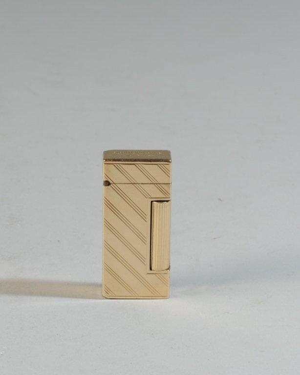 14k Gold Dunhill Lighter