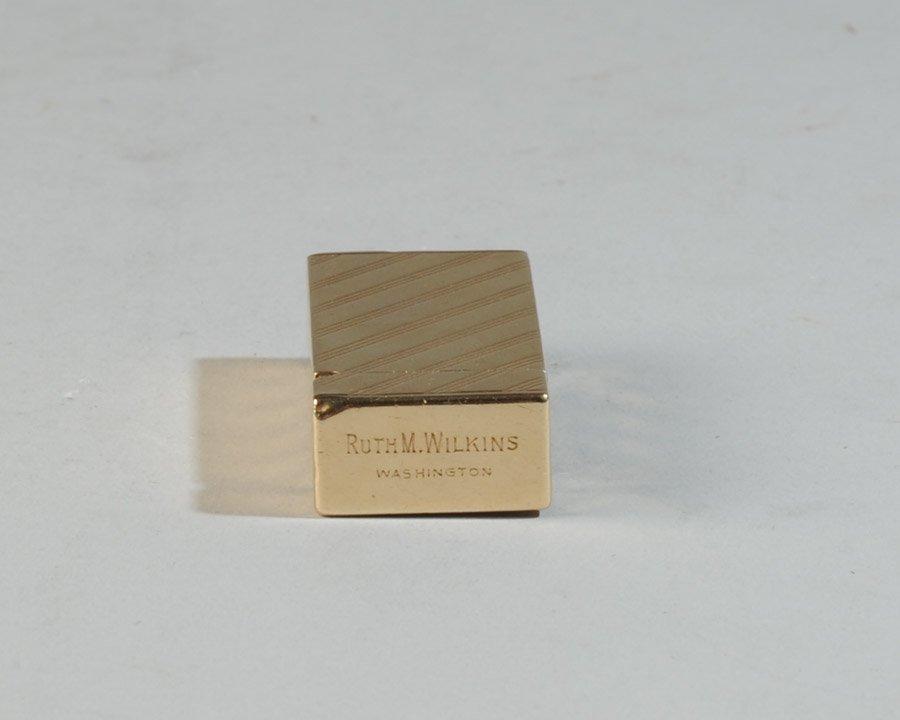 14k Gold Dunhill Lighter - 6