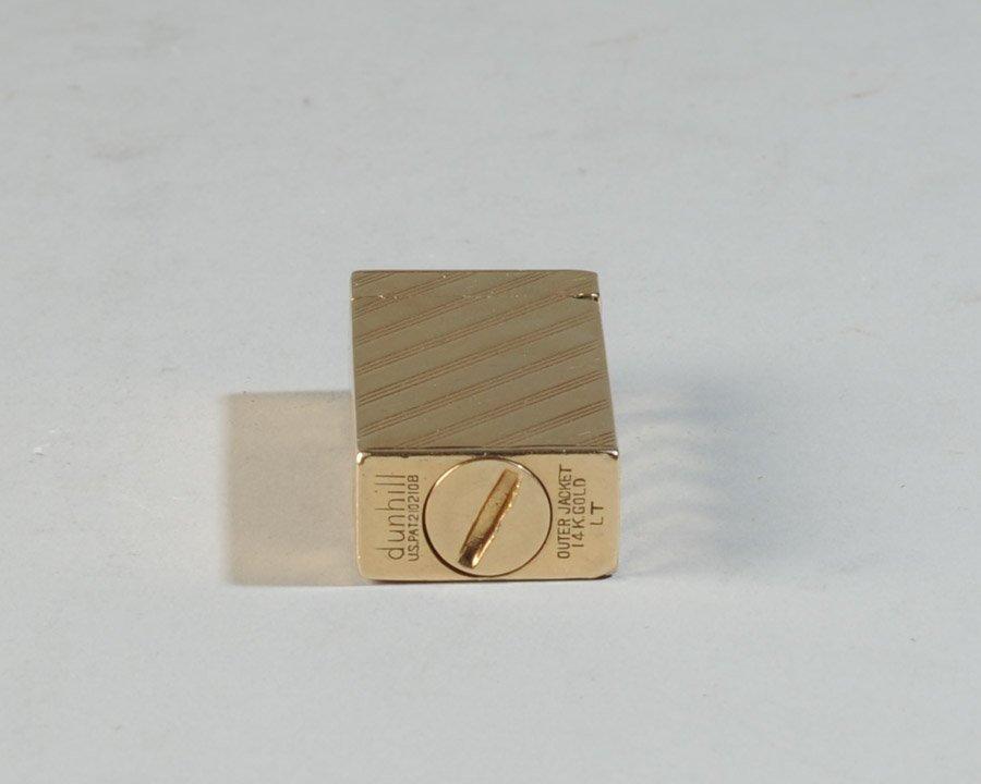 14k Gold Dunhill Lighter - 7