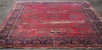 Semi-Antique Turkish Sparta Rug