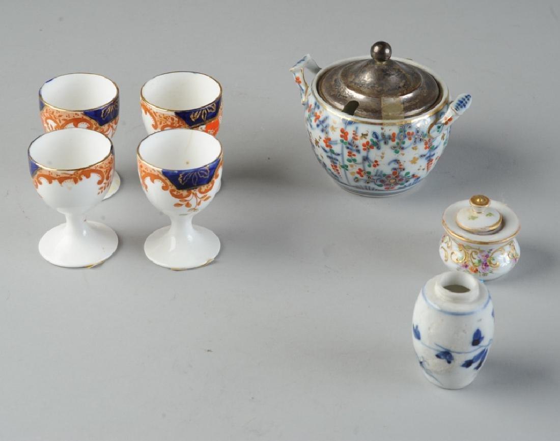 Mixed Mini Porcelain Lot: Bristol, Dresden, etc