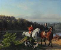Ernst Meister (1832 - 1904) Oil on Canvas