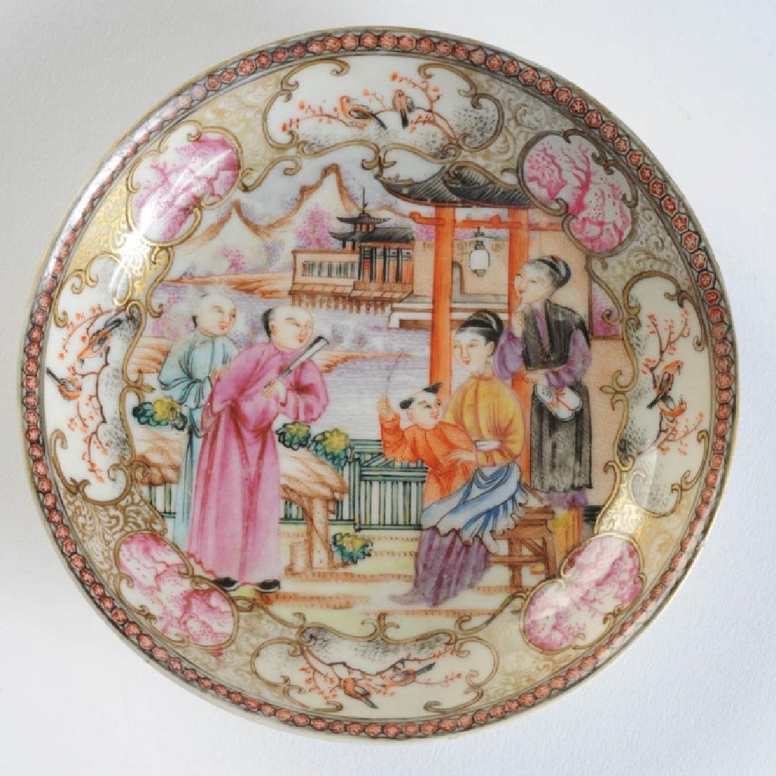 18th C. Chinese Export Small Plate or Saucer