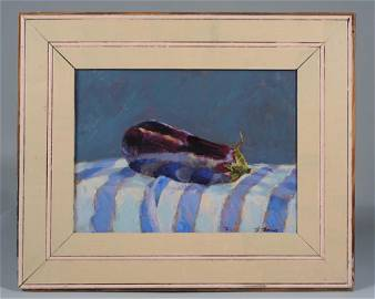 Edward Thomas (1972 - ) Oil on Board Still Life