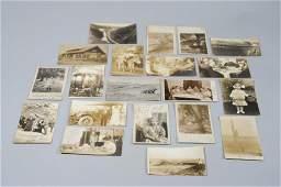 20 RPPC Real Photo Postcards