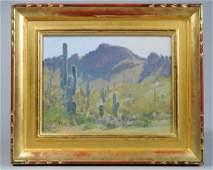 John Budicin (b. 1944) Oil on Canvasboard