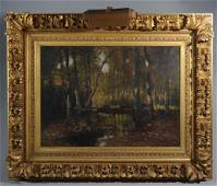 Max Weyl (Washington DC, 1837-1914) Landscape