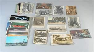 Lot Automobile Postcards