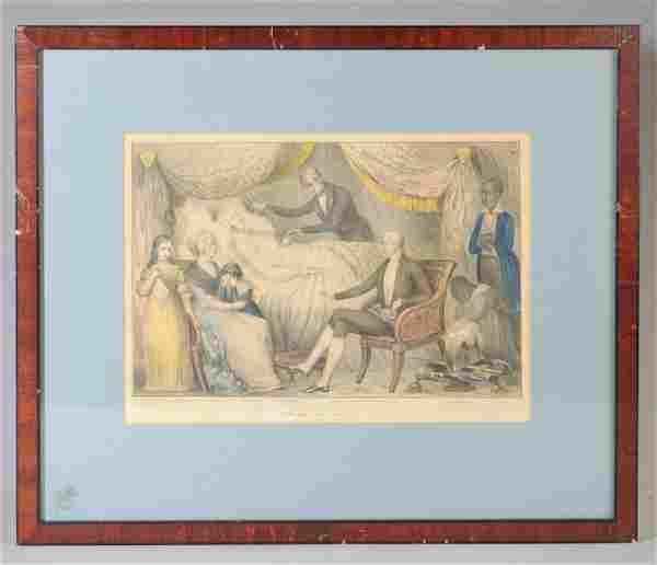Nathaniel Currier, Death of Washington, 1841