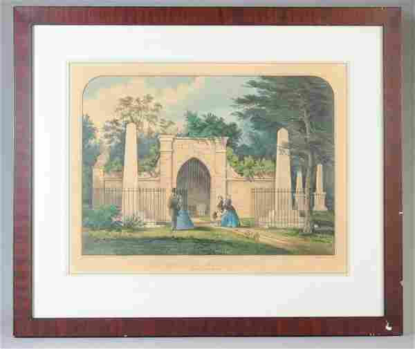 Currier & Ives, Tomb of Washington