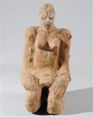 Djenne Terracotta Female Figure