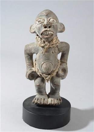 Bangwa Terracotta Figure, Cameroon