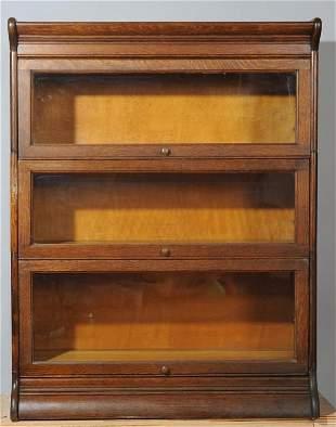 Gunn Furniture Oak Barrister Bookcase