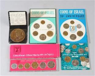 Lot Israeli Coins & Medals