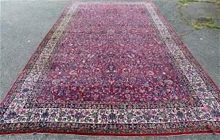 Oversize Antique Persian Kashan