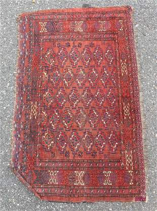 Antique Turkman Russian Pillowcase