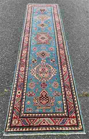 Vintage Vegetable Dye Kazak Runner