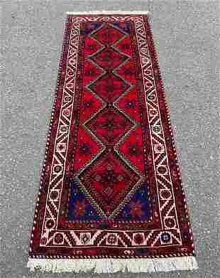 Wide Persian Hamadan Runner